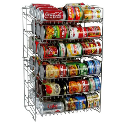 6 Tier Can Food Rack by Atlantic