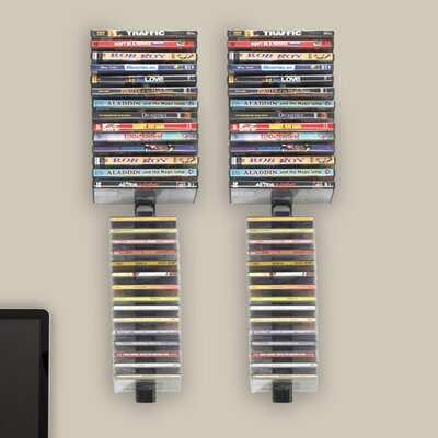 Atlantic Stix Wall Mounted Multimedia Rack