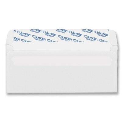 Columbian Envelope Grip-Seal Business Envelopes,#10, White Wove, 500/Box