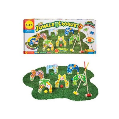 ALEX Toys Jungle Combo Croquet Game Set