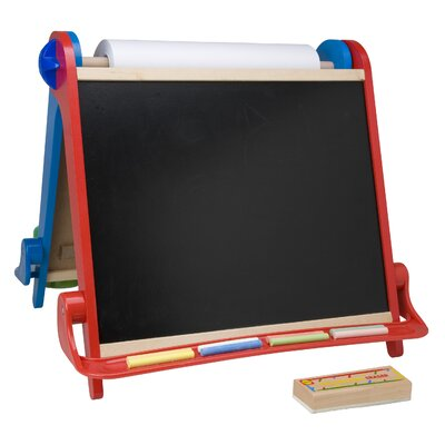 ALEX Toys My Room Magnetic Free-Standing Whiteboard, 1' x 2'