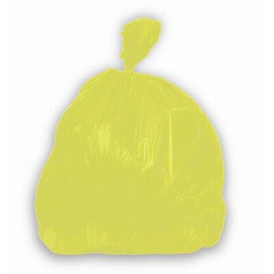 Jaguar Plastics® Health Care Low-Density Super Grade Liner 20-Gallon in Yellow