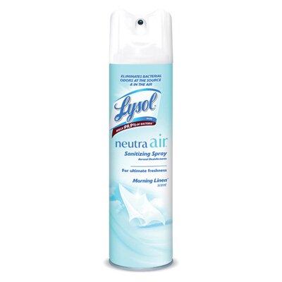 Lysol Sanitizing Aerosol Morning Linen Spray - 10-Oz.