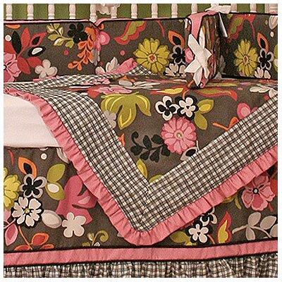 Sleek Slate Crib Blanket by Hoohobbers