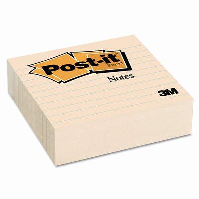 Post-it® Original Lined Note Pad, 300 Sheet