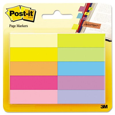 Post-it® Page Marker Strips (Pack of 10)