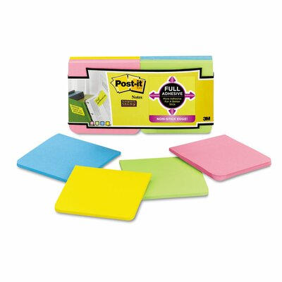 Post-it® Super Sticky Full Adhesive Note Pad
