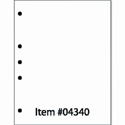 PRINTWORKS PROFESSIONAL Professional Office Paper, 5-Hole Left-Punched, 500/Ream