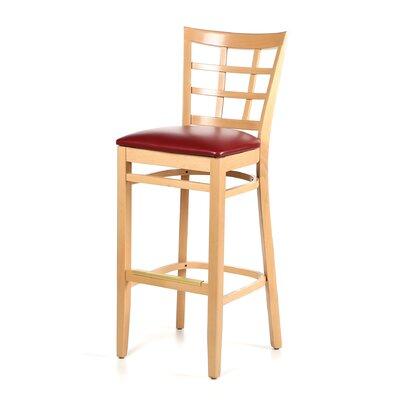 """Alston 30"""" Bar Stool with Cushion"""