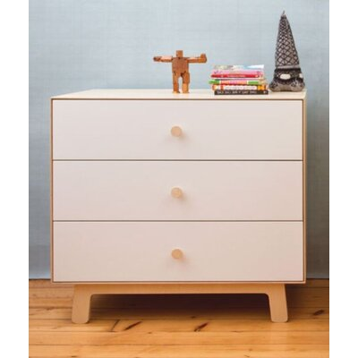 Oeuf Merlin 3 Drawer Dresser with Sparrow Base