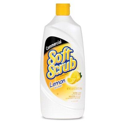 SOFT SCRUB Commercial Lemon Cleanser Lemon Scent Bottle