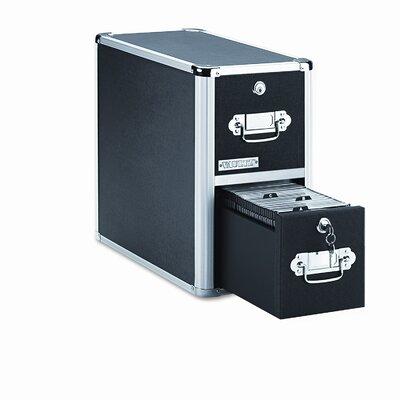 Vaultz® 2 Drawer CD File Cabinet