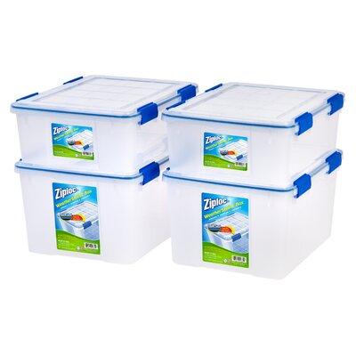 Ziploc Weathershield Storage Box Amp Reviews Wayfair