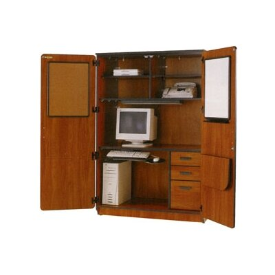 Fleetwood Illusions Armoire Desk with Locking Doors