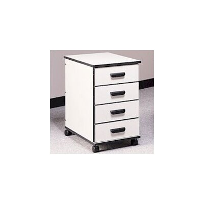 Fleetwood Solutions 4-Drawer Mobile File Cabinet