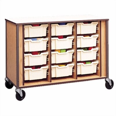 Fleetwood Tray Cubby with Small Gratnells Trays