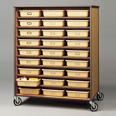 Fleetwood 54 Tray Double Sided Storage Cart