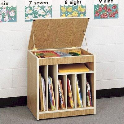 Fleetwood Mobile Big Book Storage Rack