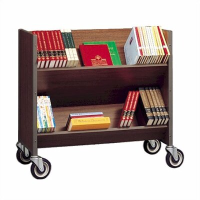 Fleetwood Double-Sided Book Cart