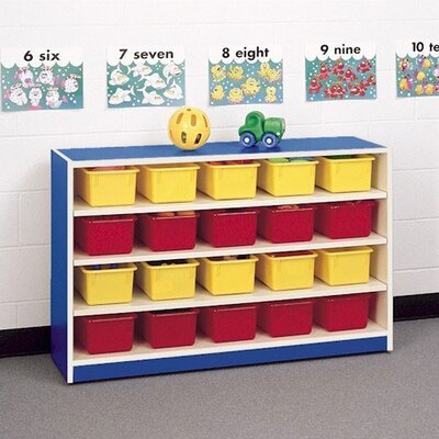 Fleetwood Koala-Tee 24 Compartment Mobile Storage Cabinet with Optional Trays