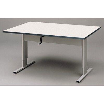"Fleetwood Accessible 60"" x 42"" Rectangular Classroom Table"