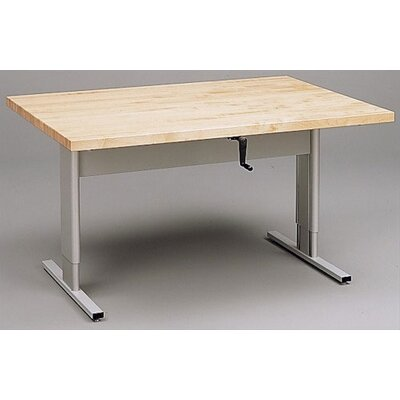 "Fleetwood 60"" x 42"" Rectangular Classroom Table"