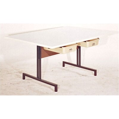 "Fleetwood Craft 60"" x 42"" Rectangular Classroom Table"