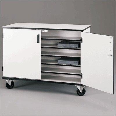 Fleetwood 36-Compartment Laptop Storage Cart