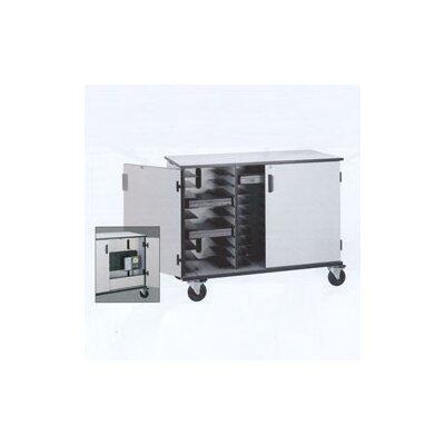 Fleetwood 30-Compartment Laptop Storage