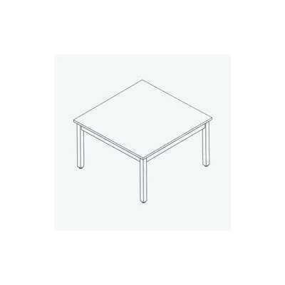 """Fleetwood Library 42"""" Square Classroom Table"""
