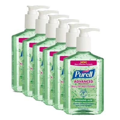 Purell® Aloe Hand Sanitizer - 8 OZ / 6 per Case