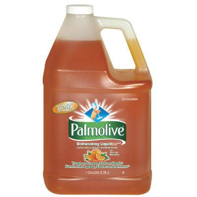Palmolive Dishwashing Liquid and Hand Soap Orange Scent Bottle