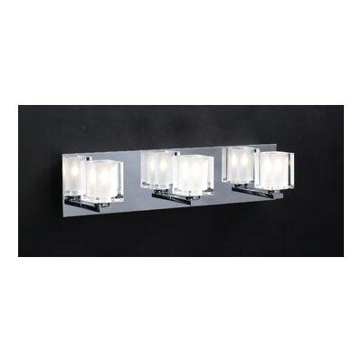 Glacier 3 Light Vanity Light Product Photo