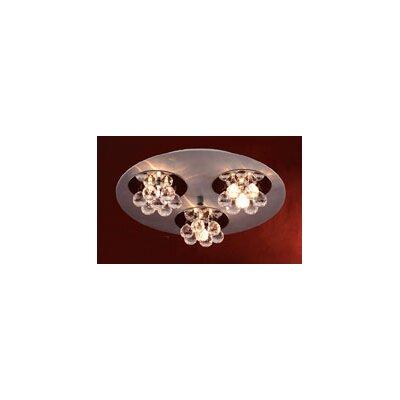 Bolero 9 Light Semi Flush Mount by PLC Lighting