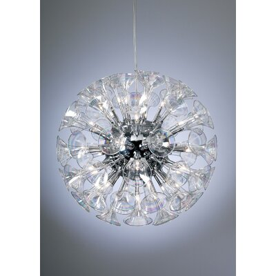 PLC Lighting Martini Globe Pendant