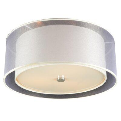 Merritt 3 Light Semi-Flush Mount by PLC Lighting