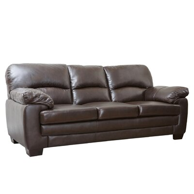 Preston Leather Sofa by Abbyson Living
