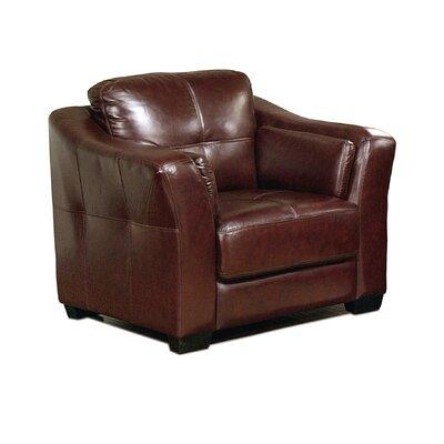 Ashburn Top Grain Leather Chair by Abbyson Living