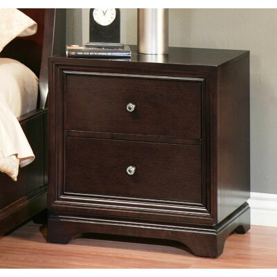Donohue 2 Drawer Nightstand by Abbyson Living