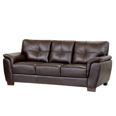 Belize Leather Sofa by Abbyson Living