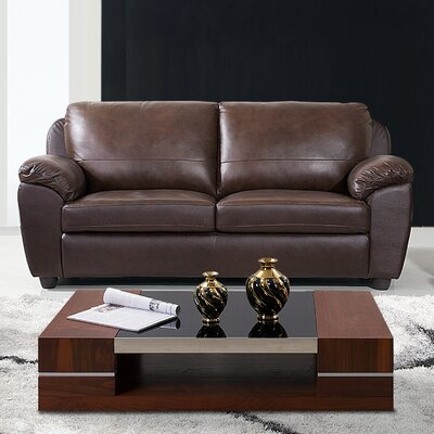 Verano Leather Sofa by Abbyson Living