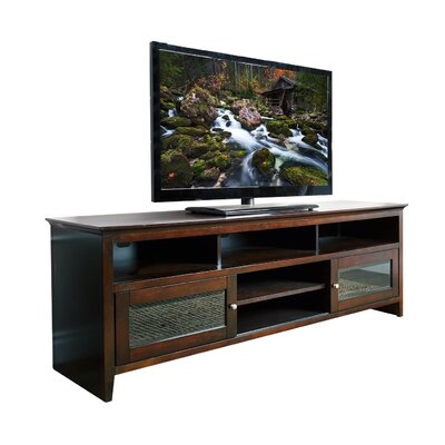 Kennedy Solid Wood 72-inch Entertainment Center by Abbyson Living