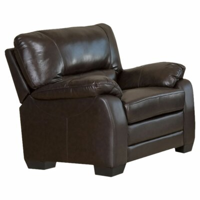Brookfield Italian Leather Chair by Abbyson Living