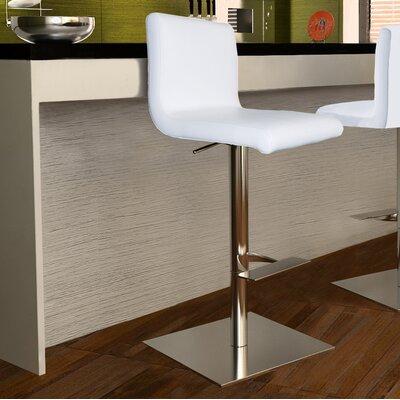 Georgio Adjustable Height Swivel Bar Stool with Cushion by Bellini Modern Living