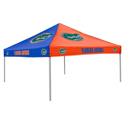 Logo Chairs NCAA Collegiate 9 Ft. W x 9 Ft. D Canopy
