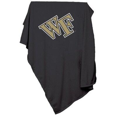 NCAA Wake Forest University Sweatshirt Blanket by Logo Chairs