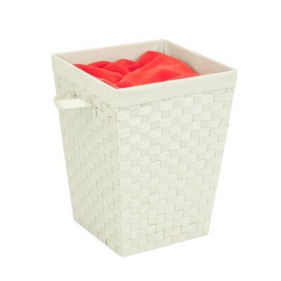 Woven Strap Hamper with Liner by Honey Can Do