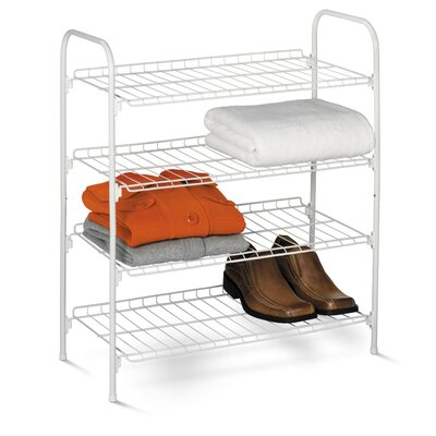 4 Tier Closet Storage Shelf by Honey Can Do