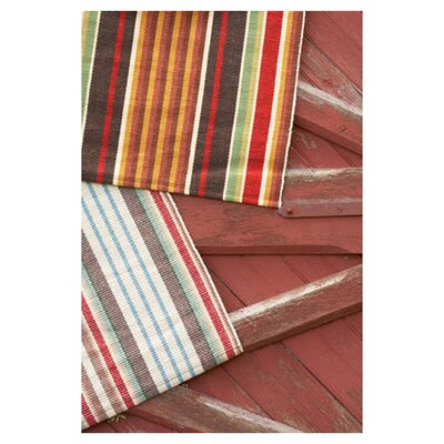 Dash and Albert Rugs Woven Ranch Stripe Area Rug