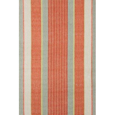 Dash and Albert Rugs Woven Orange Autumn Stripe Area Rug